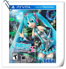 PSV HATSUNE MIKU: PROJECT DIVA F 2ND PlayStation VITA Music SEGA