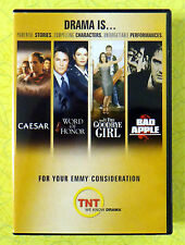 TNT Emmy Consideration 4 DVD Movie Set  Caesar Word Honor Goodbye Girl Bad Apple