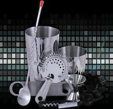 13 PIECE Professional Bar Set Steel Bartender Mixing Kit Cocktail Drinks Mix NEW