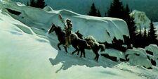 "Frank McCarthy ""Moonlit Trail"" limited edition print"