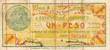 Mexico / Oaxaca  3.9.1915  S 953d  Series A Circulated Banknote