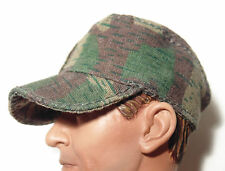 """TOY ITEM 1/6 scale WW2 German Army BASEBALL  type camo cap hat for 12"""" figures"""