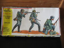 MAQUETTE 1/35 HELLER REF 114 APPUI FEU WEHRMACHT ALLEMAND  WWII MILITAIRE