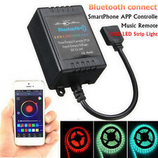 Bluetooth APP Music Control 5050/3528 RGB LED Luz Tira para iOS iPhone Android