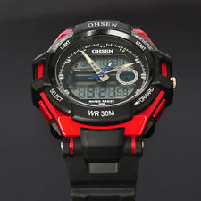 Red Optimus Prime Type Case Mens Womens Unisex Quartz Analog Digital Wrist Watch