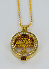 GENUINE STERLINA MI MILANO NECKLACE/TREE OF LIFE/PENDANT/CARRIER/COINS/MONEDA