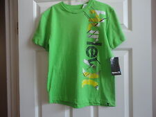 NWT Hurley Girls' Short Sleeve T-shirt Size: M. Green (on label - Code Blue