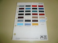 1983 Ford Truck R-M Color Chip Paint Sample - Vintage