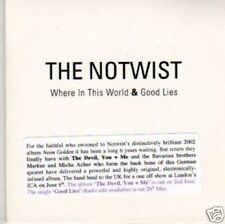 (G963) The Notwist, Where in This World - DJ CD