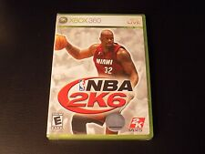 NBA 2K6 - NEW, SEALED (Microsoft Xbox 360, 2005)