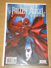 FALLEN ANGEL REBORN #1 IDW PUBLISHING VARIANT COVER RI PETER DAVID