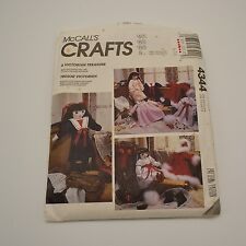 McCalls Crafts Victorian Treasure Doll & Clothes Pattern 4344 NEW Uncut