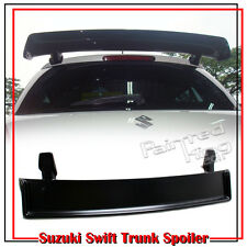 Painted For Suzuki Swift 2nd M Look Trunk Spoiler ZD11S ZC31S 2011 ABS