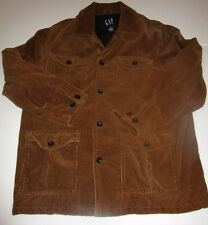 Vintage Mens Gap Brown Corduroy Barn Jacket Coat Medium