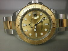 "Rolex Yachtmaster 16623 18K/SS 40MM Sport Watch. MINT!!!! ""D"" Series."