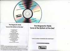 THE MAGNETIC FIELDS Love At The Bottom Of The Sea UK 15-tk encoded promo test CD