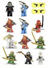 Lego Ninjago Party Supplies Temporary TATTOO Sheet. Lolly Loot Bag Favour Game