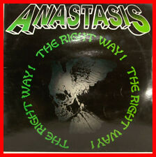"Anastasis-The Right Way 12"" LP VINILE VERDE (b517)"