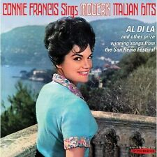 Sings Modern Italian Hits - Connie Francis (2013, CD NIEUW)