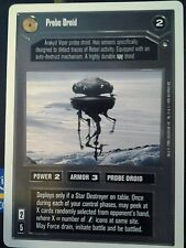 Star Wars CCG Hoth WB Unlimited  Probe Droid  X2 NrMint-MINT SWCCG