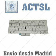 Keyboard Spanish for PC Tablet HP EliteBook 2740p modelo base PLATEADO