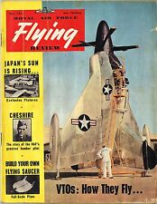 RAF FLYING REVIEW MAY 54 FACSIMILE: JAPANS AIR FORCE/ VTO FLYING/ SAUCER PLANS