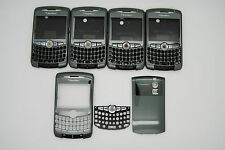 LOT of 5 BLACKBERRY CURVE 8300 8320 Grey 3pc hosuing REF