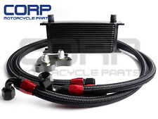 GPLUS 16ROW ENGINE OIL COOLER KIT FOR MINI COOPER S SUPERCHARGER R53 01-06 BK