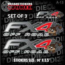*NEW* 4X4 OFFROAD DECAL STICKER TAZMANIAN DEVIL FX4 F150 F250 F350 RANGER A-13