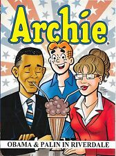 ARCHIE: OBAMA & PALIN IN RIVERDALE TPB