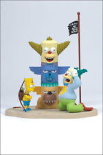 The Simpsons  - Kamp Krusty + Homer + Bart - Mcfarlane Figuren