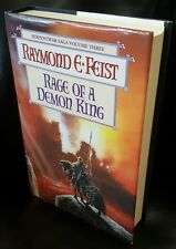 Rage of a Demon King by Raymond E. Feist, Voyager 1997 1st Edition Hardback VG