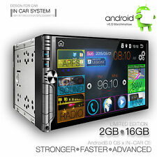 Car audio video radio player Android 6.0 GPS Navigation System  Double Din 7inch