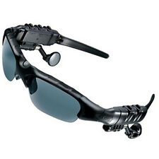 New Fashion 4GB Black Headset Sunglasses+Bluetooth+Mp3 Player!