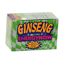 2 BOXES GINSENG ENERGY NOW, EACH BOX HAS 24 PKS Total 48 packs of 3 pills