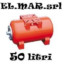 IDROSFERA 50 Litri orizzontale VASO AD ESPANSIONE AUTOCLAVE elettropompa pompa