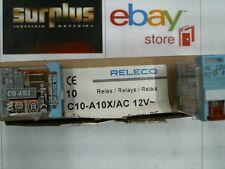 RELECO  RELAY 10A/250VAC1 12VAC   C10-A10X