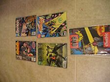 DC Marvel Batman and The Punisher set of 4 of 4 comic books