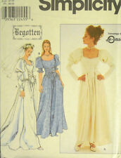 SIMPLICITY PATTERN 8502 OOP MISSES MEDIEVAL BRIDAL WEDDING DRESS COSTUMES 18-22