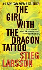 The Girl with the Dragon Tattoo Stieg Larsson Crime Fiction Thriller  PB 1999