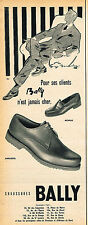 PUBLICITE ADVERTISING 045   BALLY  chaussures hommes 2