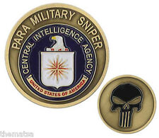 CIA CENTRAL INTELLIGENCE AGENCY CIA PARA MILITARY SNIPER  CHALLENGE COIN