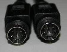 JVC Subwoofer 8 pin din Replacement Cable Black 15 ft
