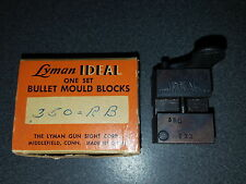 Lyman  350 RB  Round Ball Mould for 31 Caliber Colt 1849 reloading Mint New Cond