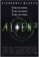 "ALIEN 3 1992 Original DS 2 Sided 27x40"" Movie Poster Sigourney Weaver C Dance"