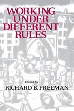 Working Under Different Rules (Sla Occasional Papers Series)
