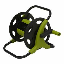 Aqua Systems HOSE REEL with Manual Wind Up Handle, Portable, Lightweight 20m