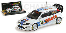 MINICHAMPS 400078446 - FORD FOCUS RS WRC BETA ROSSI MONZA RALLYE 2007  1/43