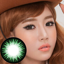 Grün Farbige Kontaktlinsen Color Contact Circle Lenses DIA14.8mm BeGr