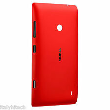COVER COPERCHIO BATTERIA SHELL CC-3068 ROSSA RED PER NOKIA LUMIA 520 E 525